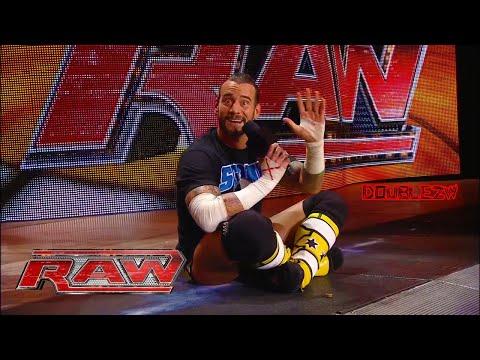 CM Punk's Infamous Pipebomb | June 27, 2011 Monday Night Raw