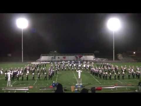 SDSU Pride Of The Dakotas Marching Band 10/11/13