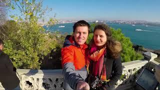 Travel to Istanbul, Bosphorus boat trip and turkish wedding. GoPro Hero 5 HD