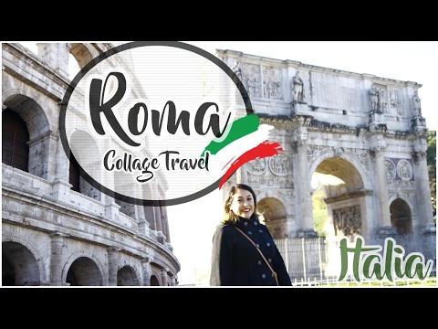 Hola ROMA ! / ITALIA collage Travel /  WendyLou Vlog