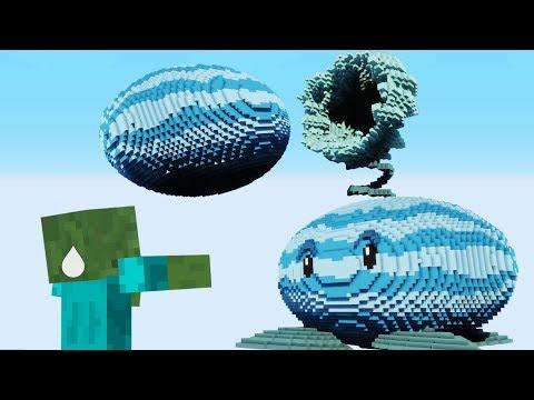 Minecraft Vs PvZ – WINTER MELON PULT!