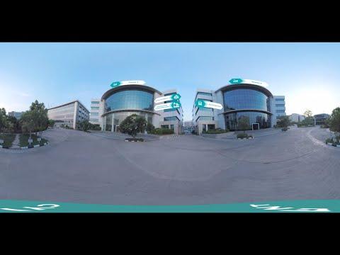 360° Video of Cyient Hyderabad Campus