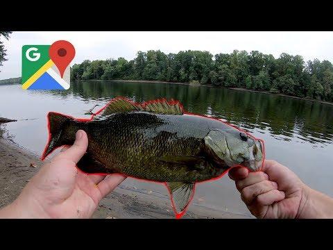 Delaware River Fishing Adventure! (Google Maps Spot)