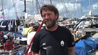 Maserati Soldini: Interview Start Caribbean 600