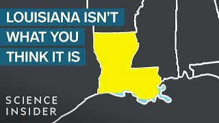 Every Map Of Louisiana Is A Lie