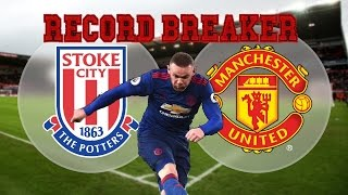 Stoke CIty vs Manchester United Review | Record Breaker! | David Gooding