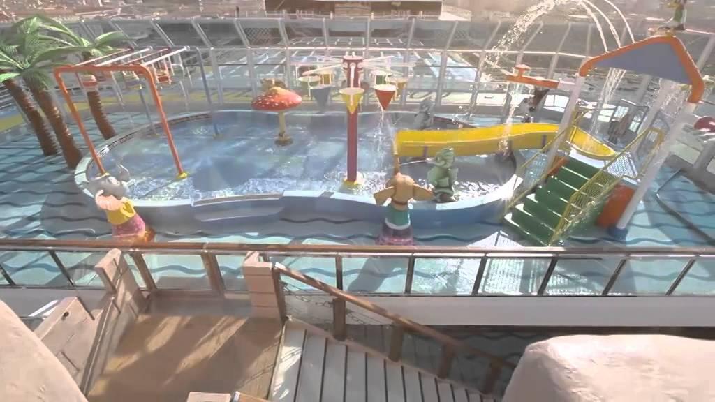 Bambini in crociera lido dello squok club di costa - Costa luminosa piscine ...