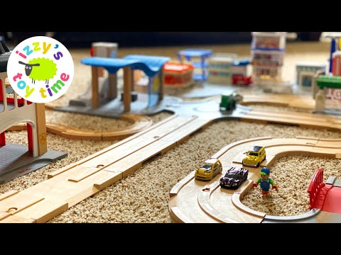 Trains and Cars for Kids: I LOVE THESE BRIO ROADS! |