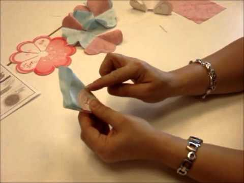 How to Use Clover's Flower Frill Template