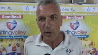 21-05-2017: #svtrivolore - Emanuele Fracascia racconta la nuova avventura nel Sitting Volley