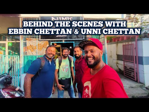 A day with Popular Youtubers Food n Travel by Ebbin Jose Chettan & Omkv Fishing Unni Chettan