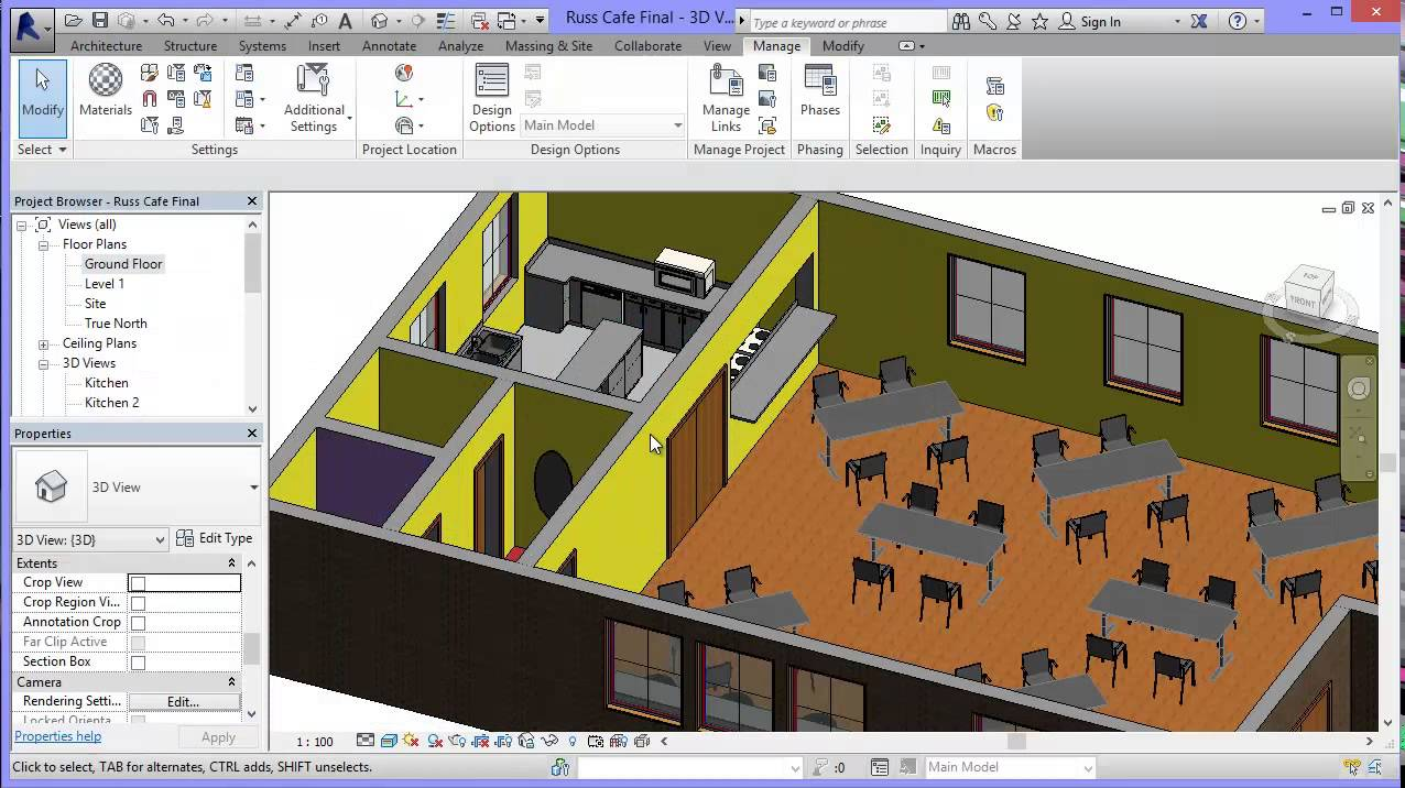 Revit Floor Elevation : Revit introduction to wall and floor surface finishes