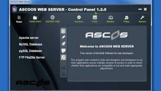 ASCOOS Web Server 1.3 - How to use it