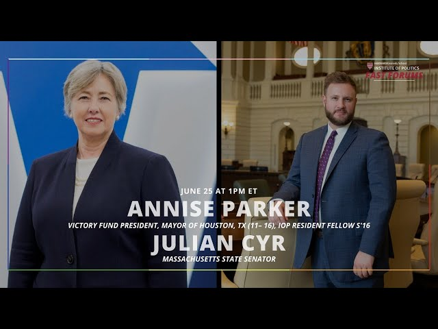 Fast Forum with Annise Parker and Julian Cyr