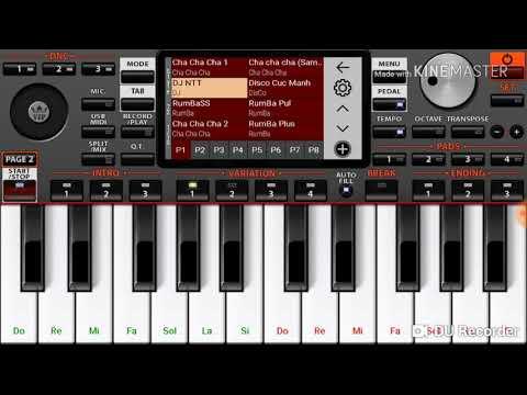 Phần mềm Organ 2019 Android Cực Hay (Organ 2019 Android software)