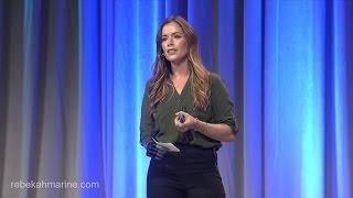 Rebekah Marine Gives Motivational Speech [CLIP]
