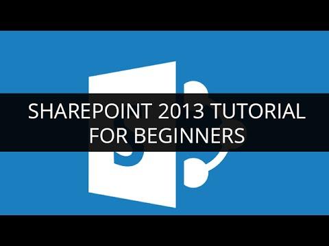 Free Sharepoint Designer  Tutorial For Beginners