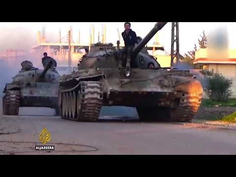 Syria War - Syrian rebels gain ground in Hama province - (Must See!!)