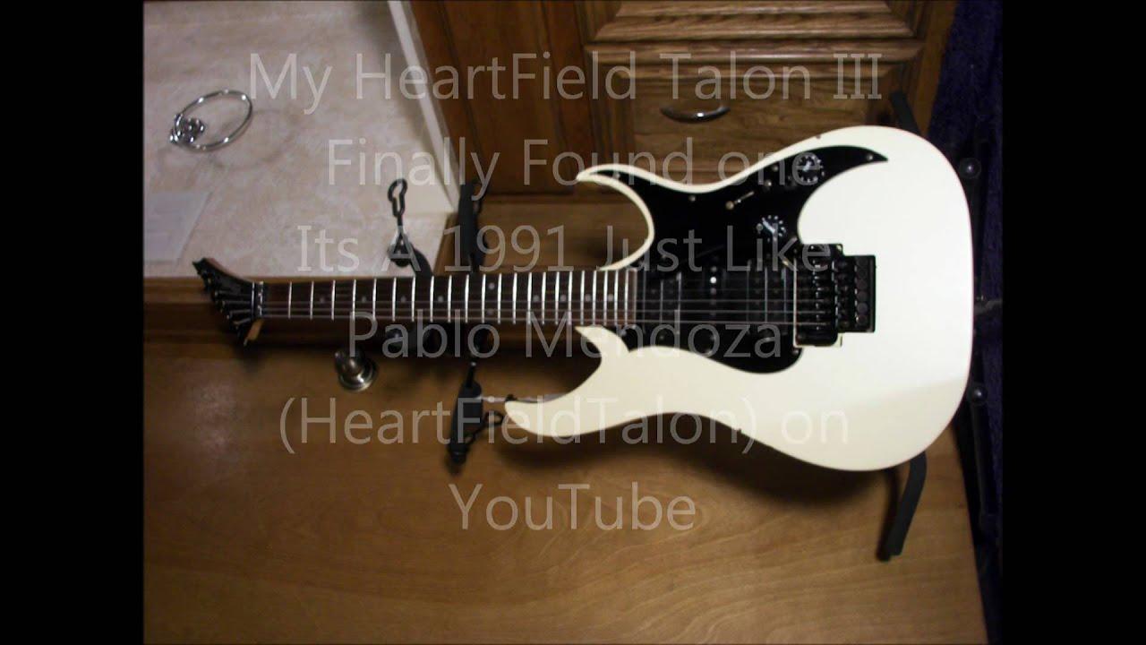 Heartfield Talon Iii 1991 Made In The Fujigen Factory In Japan Youtube