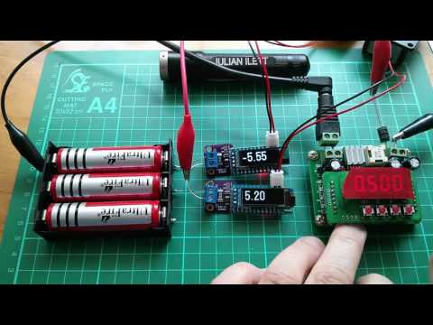 Playing with Lithium Cells and Arduino Ammeters