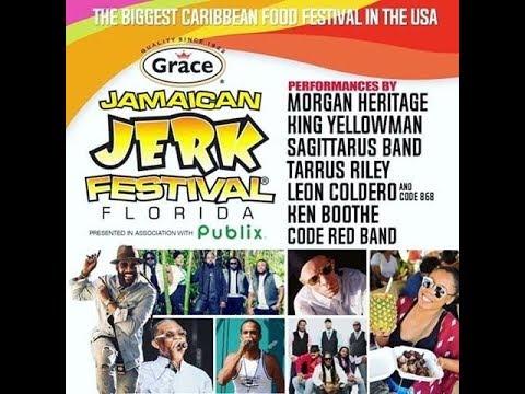 Grace Jamaican Jerkfest 2017  Sunrise Florida Part 1 (Highlights)