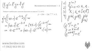 Показательная функция в задаче B15 и линейная замена