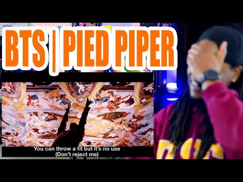 BTS   Pied Piper   REACTION!!!
