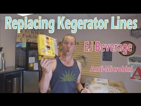 Replacing Kegerator Draft Lines - Anti Microbial EJ Beverage