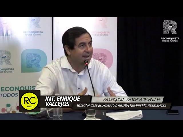 Enrique Vallejos retomó la intendencia