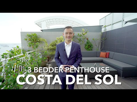 Singapore Condo Property Listing - East Coast Costa Del Sol 3 Bedder Penthouse For Sale