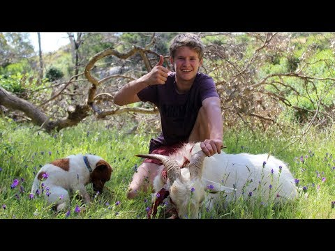 Hunting Feral Goats Australia [Catch n Cook]
