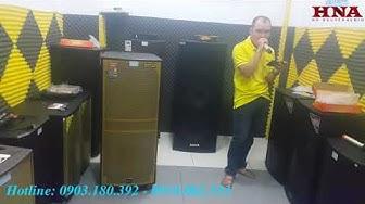 Test Karaoke loa kéo BOSE DK-815 | 4 Tấc Bass Đôi Công Suất Khủng