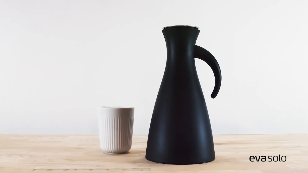 Vacuum Jug // Wide Base (Black) video thumbnail