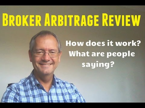 BROKER ARBITRAGE REVIEW. Broker Arbitrage by Mark Reid SCAM? see this NEW UPDATE.Does it work?