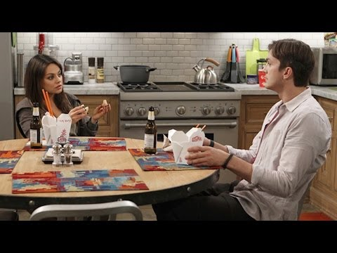 Ashton Kutcher and Mila Kunis Joke about Sex Tape