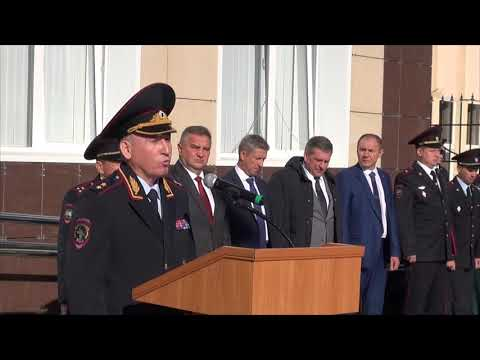 Открытие Крымского линейного управления МВД России на транспорте
