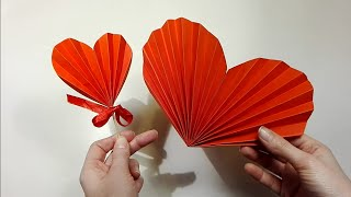 Jak zrobić Harmonijkowe Serce / How to make an Accordion Heart