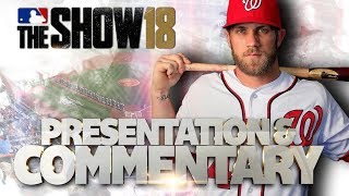 MLB The Show 18 Presentation & Commentary
