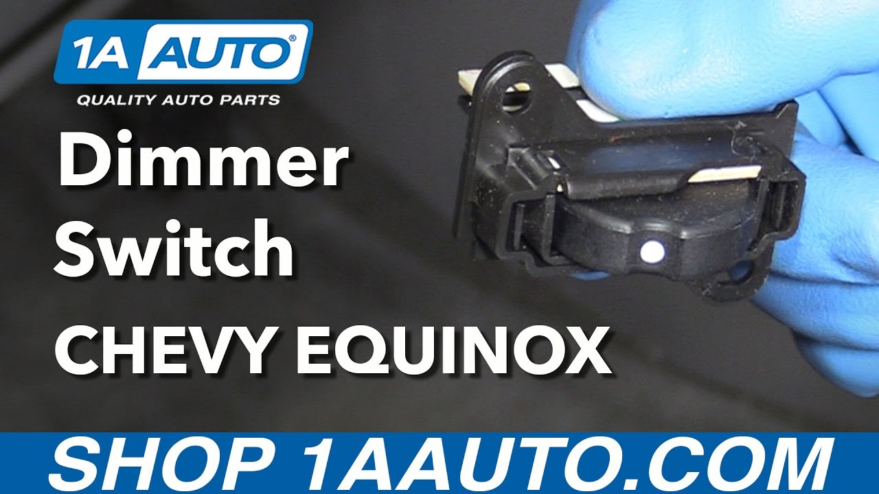 How to replace a dimmer switch - How To Install Replace Dimmer Switch 2008 Chevy Equinox Buy Quality Auto Parts At 1aauto Com