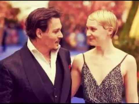 Johnny Depp & Mia Wasikowska