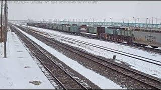 Laramie, Wyoming USA - Virtual Railfan LIVE (DEMO)