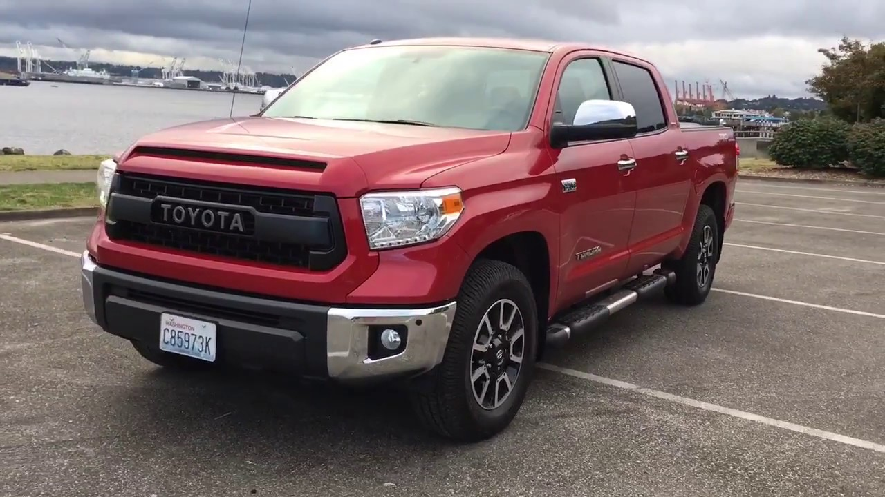 Update 2017 Toyota Tundra Limited Crew Max Trd Pro Grill