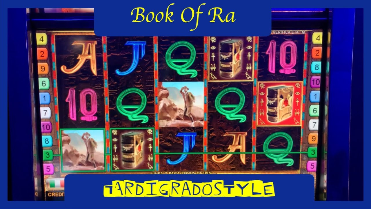 VLT SLOT - BooK Of Ra Libri
