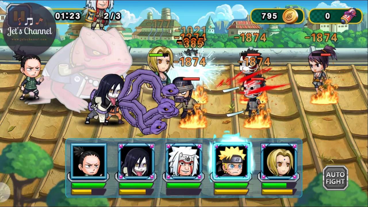 Upgrade Shikamaru Ninja Rebirth Monster Legend Jet S Channel Youtube