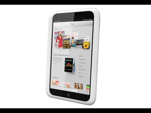 Barnes & Noble Nook HD Hands On Review