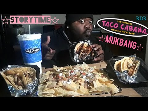 ☆☆Taco Cabana Mukbang☆☆(STORYTIME)[Eating Show]