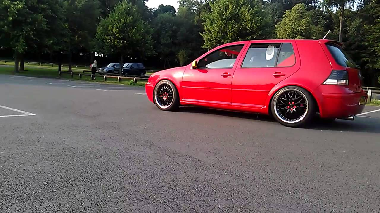 vw golf mk4 r32 hgp twin turbo red london youtube. Black Bedroom Furniture Sets. Home Design Ideas