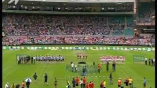 Aleyce Simmonds - Australian Anthem Performance, NRL Heritage Round