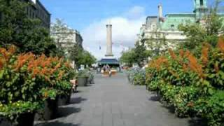 Place Jacques-Cartier in Old Montreal, Quebec