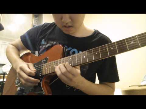 How To Play The Devil In Disguise Guitar Solo